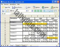 Excel Tally utility