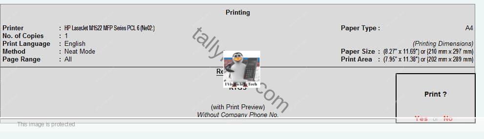 """rtgs print in Tally"""
