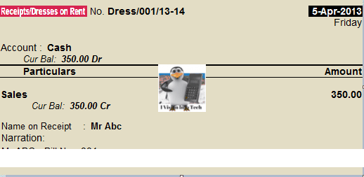 23 accounting for garment